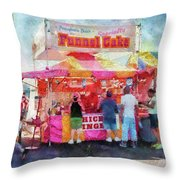 Carnival - The Variety Is Endless Throw Pillow