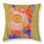 Carnival Abstract 1 Throw Pillow