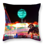 Carnival Excitement Throw Pillow by James BO  Insogna