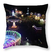 Carnival From The Sky Throw Pillow