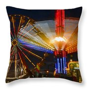 Carnival Fun Throw Pillow