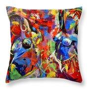 Carnival- Large Work Throw Pillow