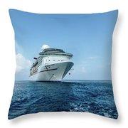Carnival Legend Throw Pillow