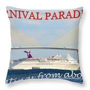 Carnival Paradise Custom Pc One Throw Pillow