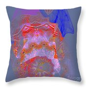 Carnival Abstract 3 Throw Pillow