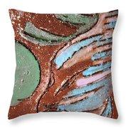 Carnival Tile Throw Pillow