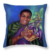 Carnival Time Throw Pillow