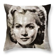 Carole Landis, Vintage Actress Throw Pillow