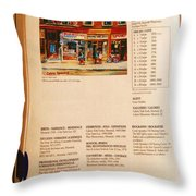 Carole Spandau Listed In  Magazin'art Biennial Guide To Canadian Artists In Galleries 2000-2001 Edit Throw Pillow