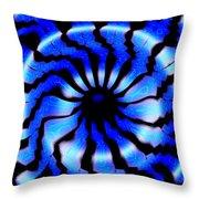 Carolina Blues Throw Pillow
