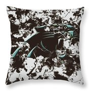 Carolina Panthers 1b Throw Pillow
