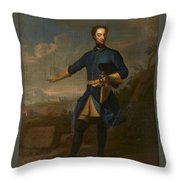 Carolus Rex Xii Sueciae Throw Pillow