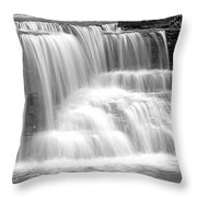 Caron Falls Throw Pillow