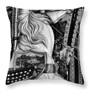 Carousel Beauty Salem Oregon 12  Throw Pillow
