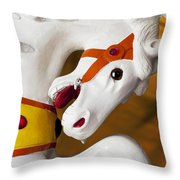 Carousel Horse 1 Throw Pillow