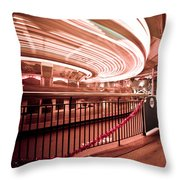Carousel Lights #2 Throw Pillow