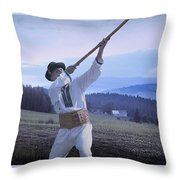 Carpathian Highlander Throw Pillow