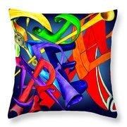 Carpe Diem 2010 Throw Pillow