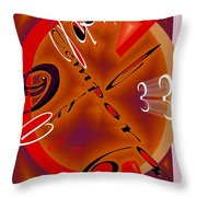 Carpe Tempora Throw Pillow