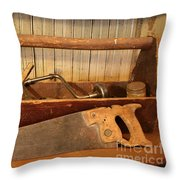 Carpenter's Toolbox - Not Free Do Not Copy Throw Pillow