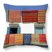 Carpets Throw Pillow