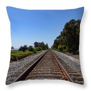 Carpinteria Bluffs  Throw Pillow