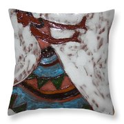Carrie - Tile Throw Pillow