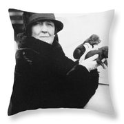 Carrie Phillips (1873-1960) Throw Pillow