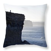 Carried Away By The Moment Throw Pillow
