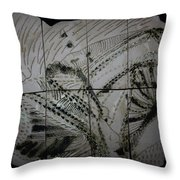 Carried -plaque Throw Pillow
