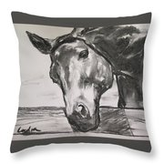 Carrot? Throw Pillow