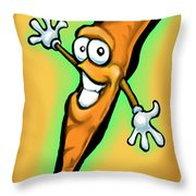 Carrot Throw Pillow