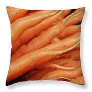 Carrot Market Bergen Throw Pillow