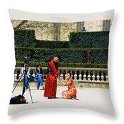 Carrousel Wedding Throw Pillow