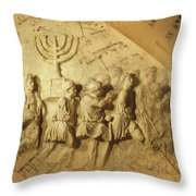 Carrying The History Throw Pillow