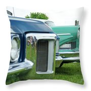 Cars Show Throw Pillow