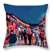 Carsija Throw Pillow