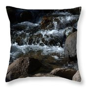 Carson River Throw Pillow