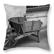 Cart For Sale II Throw Pillow