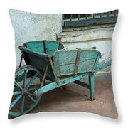 Cart For Sale Throw Pillow