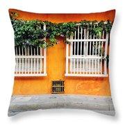 Cartagena Street Throw Pillow