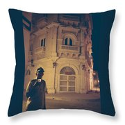 Cartagena Watchman Throw Pillow