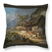 Carters With A Load Of Slate Throw Pillow