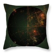 Cartesian Doodle Throw Pillow