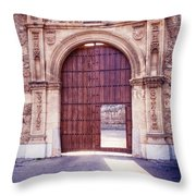 Carthusian Monastery Granada Throw Pillow