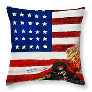 Cartoon: Red Scare, 1919 Throw Pillow