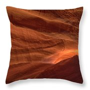 Carved By Nature Throw Pillow