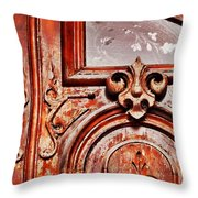 Carved Entry Throw Pillow