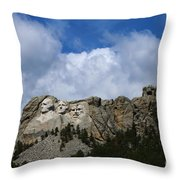 Carved In Stone For Eternity Throw Pillow