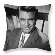 Cary Grant (1904-1986) Throw Pillow by Granger